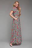 Платье длинное Алена Розы 48 р, фото 2