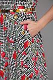 Платье длинное Алена Розы 48 р, фото 4