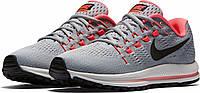 Женские кроссовки Nike Air Zoom Vomero Grey РЕПЛИКА