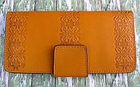 Оригинальный женский кожаный кошелёк, фото 1