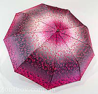 """Зонтик женский полуавтомат абстракция сатин от фирмы """"ZITA"""", фото 1"""