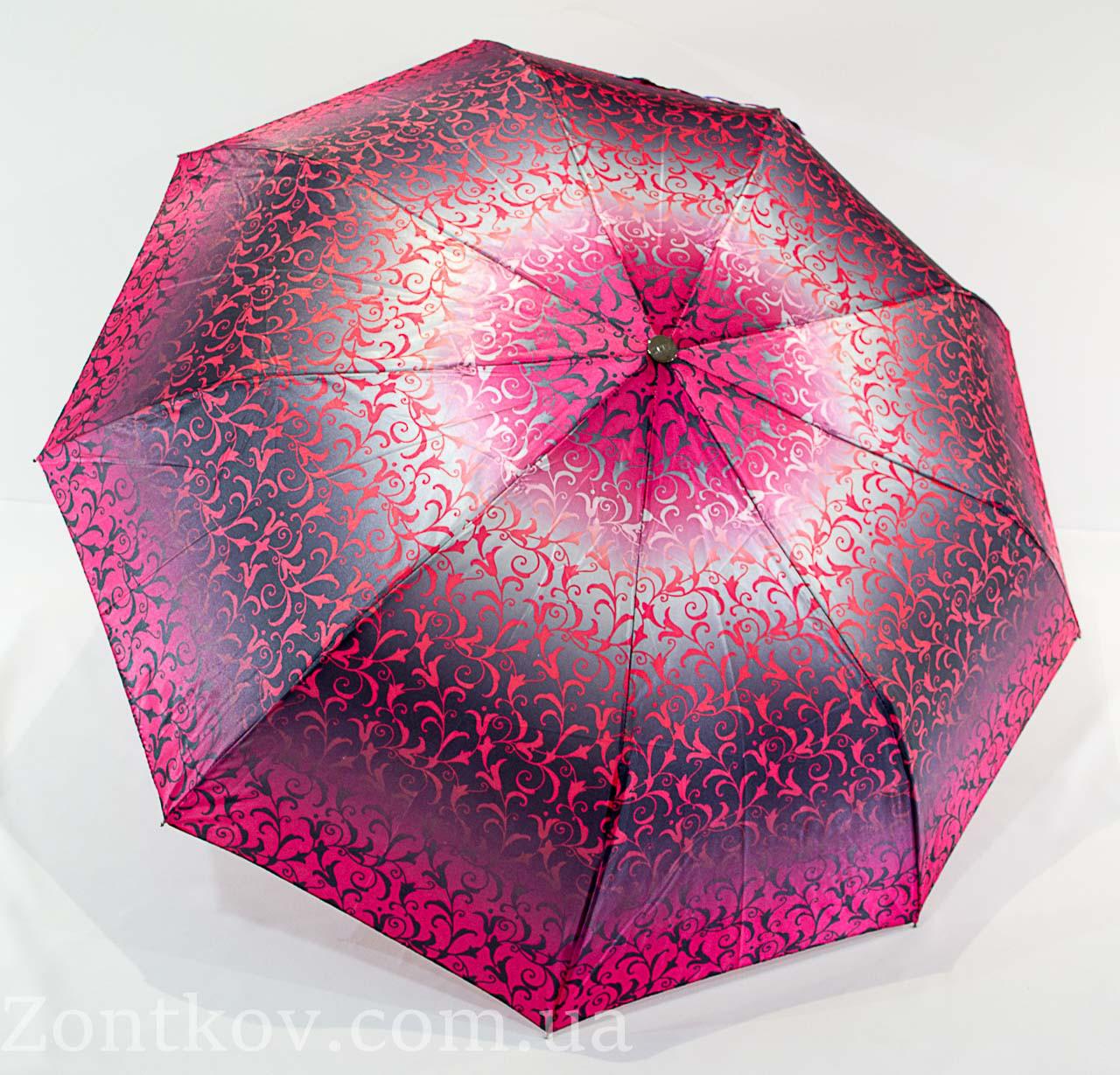 "Зонтик женский полуавтомат абстракция сатин от фирмы ""ZITA"""