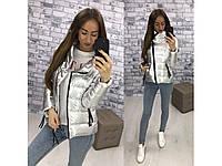Женская  Куртка косуха ORIGINAL SILVER FOIL