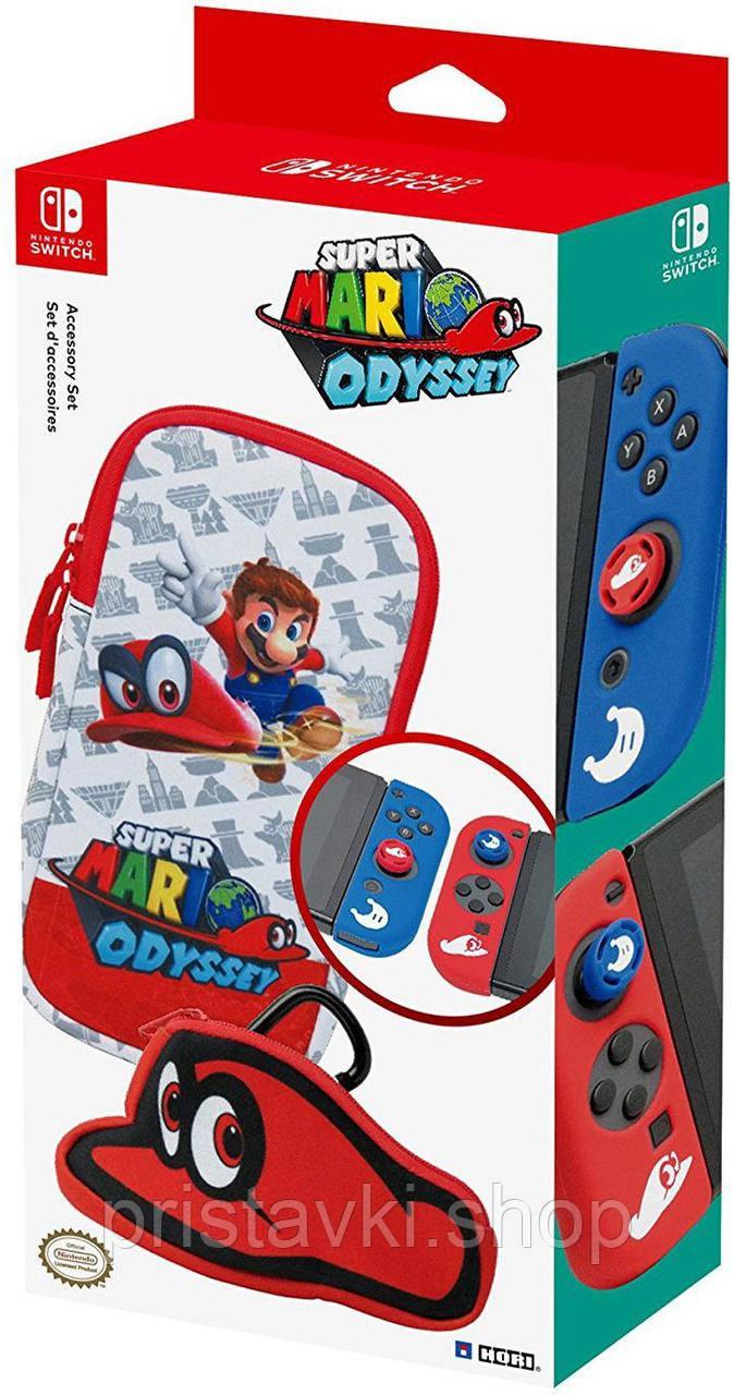 Набір HORI Accessory Set Super Mario Odyssey Nintendo Switch