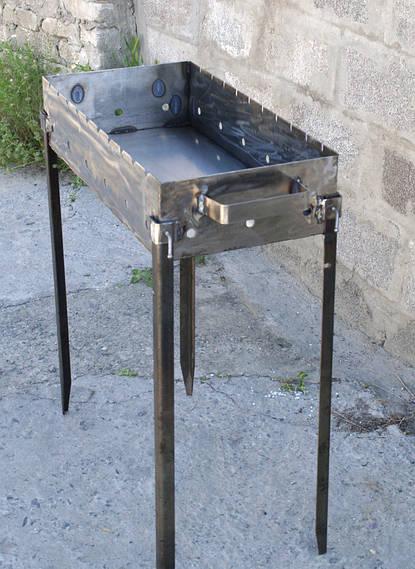 Качественные мангалы для дома 500х300х135 мм