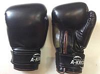 Перчатки боксерские 12 унций A-KROSS  кож/винил