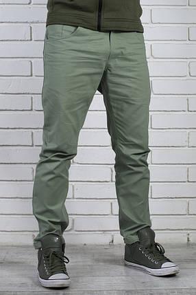 2b2823fe Мужские брюки чинос из хлопковой ткани бирюзовые: продажа, цена в ...