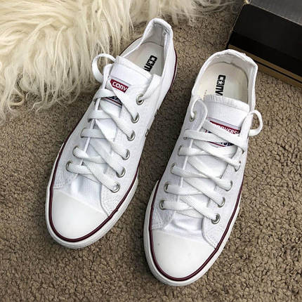 Converse Chuck Taylor All Star White Low Top, фото 2