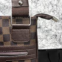 Messenger Louis Vuitton District Pochette Damier Ebene, фото 3