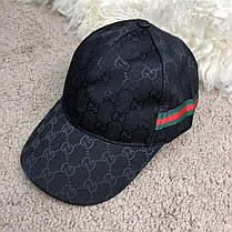 Baseball Hat Gucci Web GG Supreme Canvas Black, фото 2