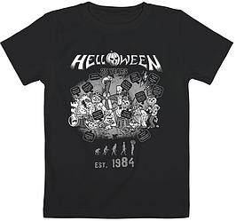 Детская футболка Helloween - Est. 1984