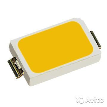 LED светодиод SMD 5730 теплый/холодный