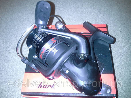 Катушка рыболовная shark HZ 4000F   5 bb(металлическая шпуля), фото 2