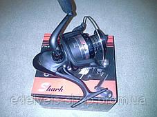 Катушка рыболовная shark HZ 4000F   5 bb(металлическая шпуля), фото 3