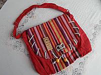 Женская сумка на плечо в карпатском стиле разные цвета