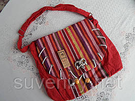 Жіноча сумка на плече у карпатському стилі різні кольори