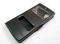 Чехол книжка с окошками momax для LG Nexus 5 d820 / d821 черный