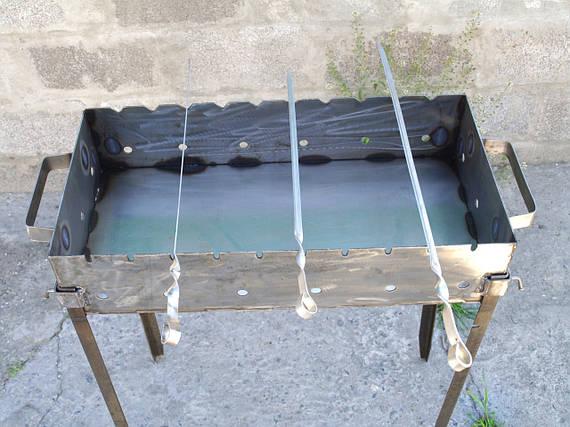 Мангалы и шампура для дома 600х350х135 мм