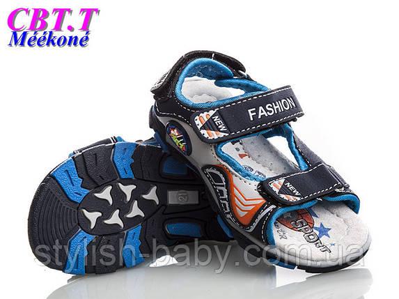 Детская летняя обувь оптом. Детские босоножки бренда СВТ.Т. - Meekone для мальчиков (рр. с 20 по 25), фото 2