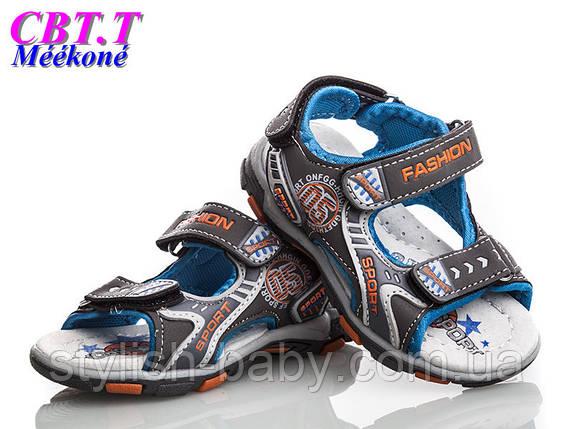 Дитяче літнє взуття оптом. Дитячі босоніжки бренду СВТ.Т. - Meekone для хлопчиків (рр. з 20 по 25), фото 2
