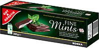 Шоколад черный Fine Mints Gut & Gunstig Германия 300г