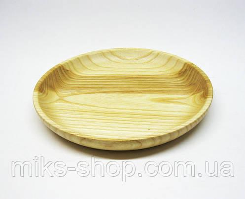 Деревянная тарелка, фото 2