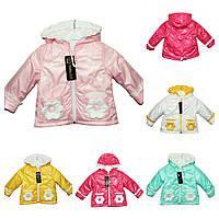 Демисезонная детская куртка на девочку