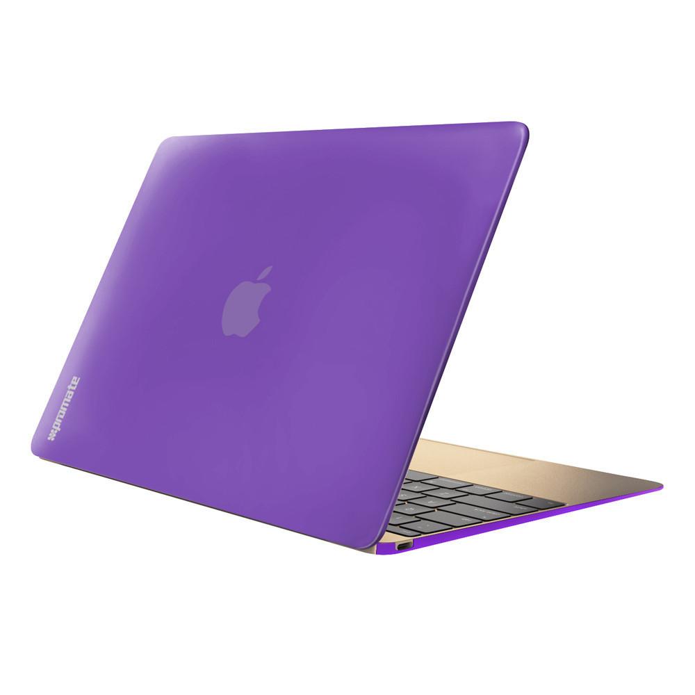 """Чехол-накладка для ноутбука Promate MacShell-12 MacBook 12"""" Purple"""