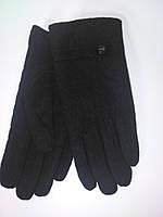 Мужские кашемировые перчатки Baisigi черные