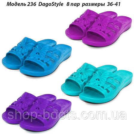 Женские шлепанцы оптом DagoStyle.  36-41рр. Модель Даго 236, фото 2