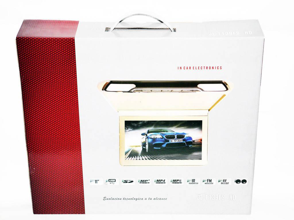 Автомобильный потолочный монитор JL-1139FS HD с USB/SD Тонкий корпус