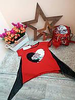 Футболка Little star  для девочек Оптом и в розницу Турция 6-16 лет, фото 1
