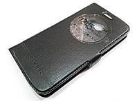 Чехол книжка с окошком momax для LG K5 x220ds черный