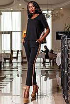 Женский костюм с лампасами (Синти jd), фото 3