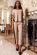 Женский костюм с лампасами (Синти jd), фото 2