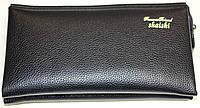 Клатч мужской, черный, 22х13х4 см, фото 1