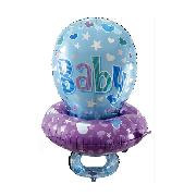 Фольгированные воздушные шары, форма: Соска пустышка, 34 дюйма/86 см, 1 штука