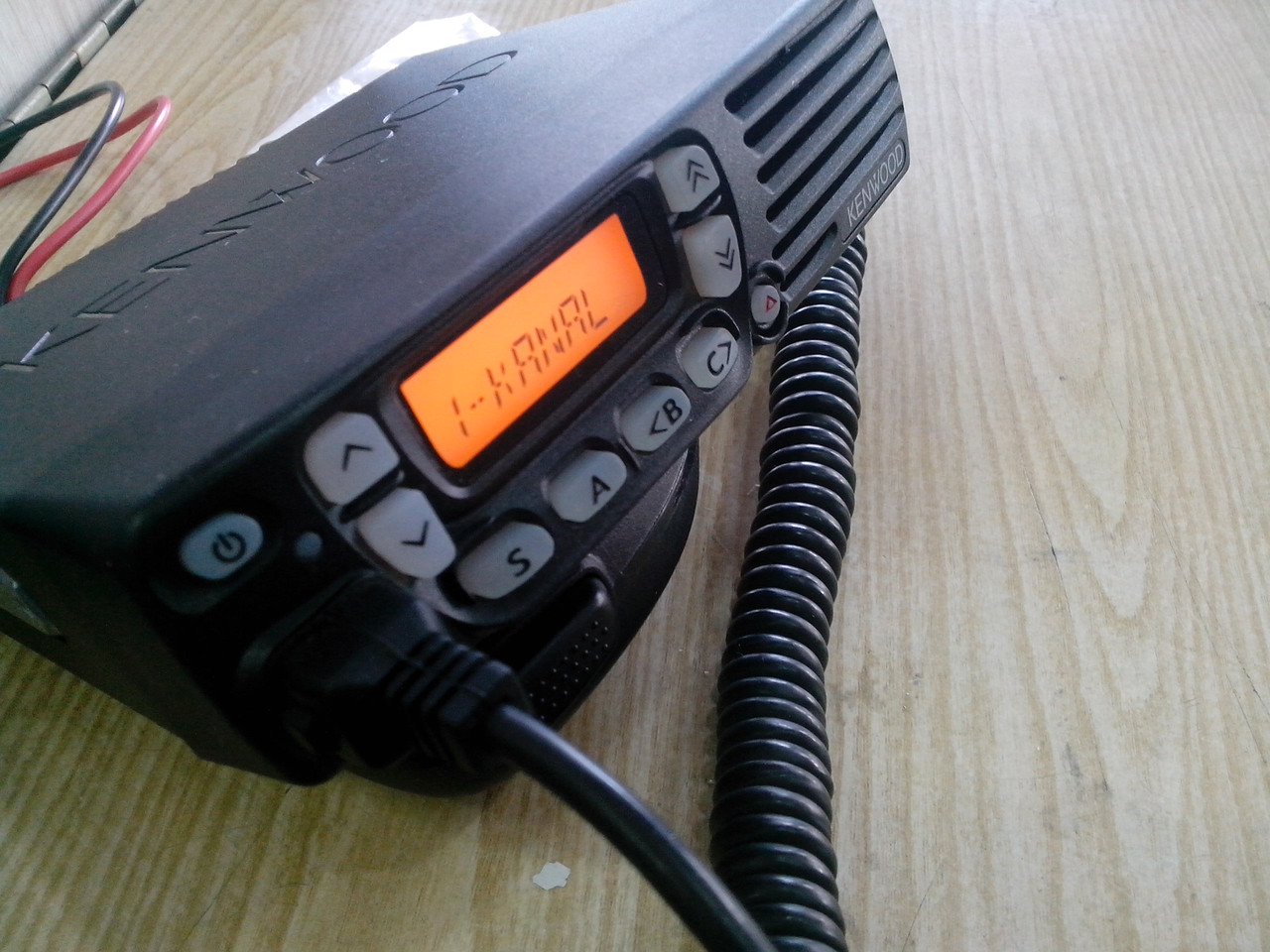 Kenwood TK-7060 (7Р22В, TK-7160), VHF рация, радиостанция со скреблером