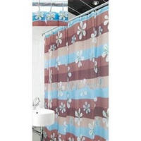 Шторки в ванную комнату 180х180,  Arya Violet, фото 1