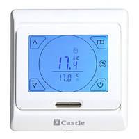 Сенсорный программируемый терморегулятор Castle M9.716