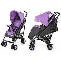 Детская прогулочная коляска Carrello Porto crl-1411 Фиолетовая