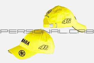 Бейсболка   YMH   (желто-черная, 100% хлопок)