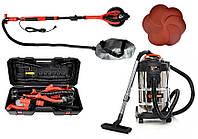 Шлифовальная машина для стен BASS POLSKA BP-5463 + пылесос BEST Tools OW1230AOF, фото 1