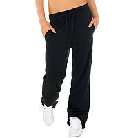 Спортивные штаны женские черного цвета