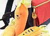 Школьный пенал плюшевый морковка, фото 2