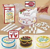 Набор для украшения тортов 100 PIECE CAKE DECORATING KIT.