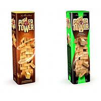 Настольная игра POWER TOWER (джанга, дженга, вежа) оранжевая