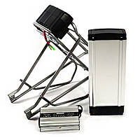 Аккумуляторная батарея HW4810 48В 10Ач+Багажник литий-ферум LiFePo4