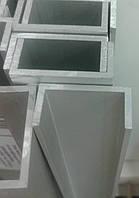 Швеллер алюминиевый 12х12х1,5 мм