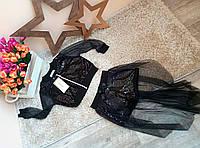 Нарядный костюм с пайетками для девочек 2-7 лет Little star Турция, фото 1